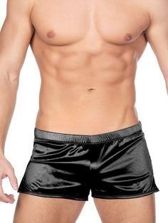 Satin Shorts, Athletic Wear, Male Body, New Look, Active Wear, Sportswear, Underwear, Bodysuit