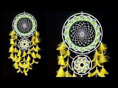 Globe Studio One - YouTube Dream Catcher Patterns, Wall Hanging Crafts, Pearl Beads, Macrame, Globe, Diy, Craft Ideas, Dreams, Studio