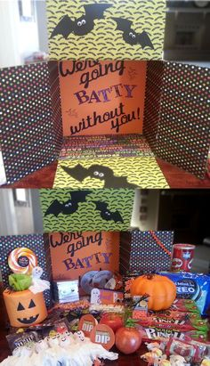 35 Totally Spooktacular Halloween Care Package Ideas for College Students College girls & boys alike LOVE receiving a care package from family. A little bit of thought can go a long way, especially during the holidays. Here are 19 fun & Missionary Care Packages, Missionary Mom, Deployment Care Packages, College Care Packages, Lds Missionaries, Halloween Care Packages, Care Box, Military Deployment, College Gifts