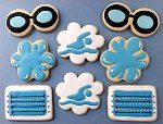 Click image for larger version. Name: Views: 27 Size: KB ID: 19229 Summer Cookies, Fun Cookies, Cupcake Cookies, Decorated Cookies, Swimming Cupcakes, Swim Team Party, Swim Coach Gifts, Kids Sports Party, Sports Themed Cakes