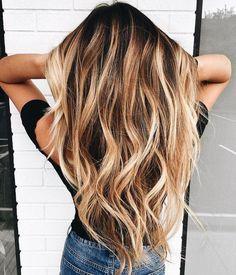 blonde balayage long blonde hair