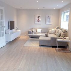 Modern Scandinavian Living Room Design (61  Télé