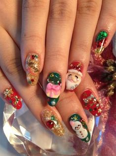 12-Christmas-3D-Nail-Art-Designs-Ideas-Trends-Stickers-2014-3d-Nails-11.jpg (500×669)
