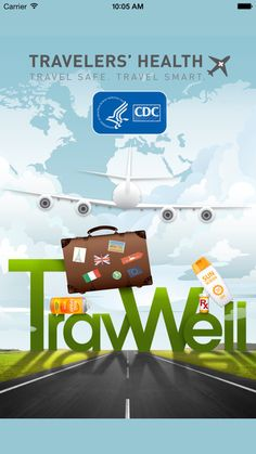CDC TravWell by Centers For Disease Control and Prevention