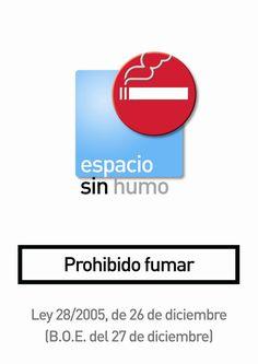 Espacio sin humo, prohibido fumar