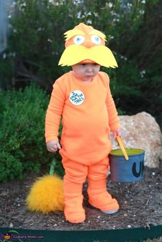 The Lorax - Homemade Costume- OMG I JUST  HAVE TO MAKE THIS FOR MASON!!!!  This is the only movie he will even watch!