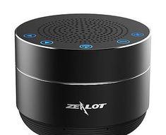 Boxa Wireless Zealot GMO  Boxa Wireless Zealot GMO cu touch control este un gadget calitativ cu elemente de design care ies din tipar si incanta utilizatorul atat prin finetea vizuala cat si cea auditiva.