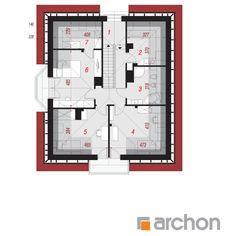 Dom w tymianku Floor Plans, Sketch Design