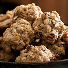 Oatmeal-Walnut Cookies | MyRecipes.com