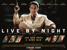 Ben Affleck returns to cinemas on the 13th January, not as Batman this time but as Joe Coughlin in the new dramatic thriller, Live By Night.