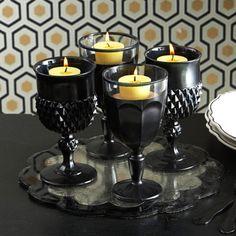 thrift store goblets