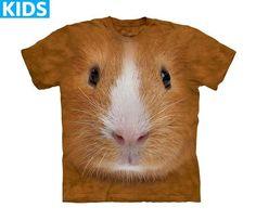 Guinea Pig T-Shirt | Guinea Pig Face Kids