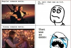 O MY GOSH WHEN I SAW THE TITANIC I DIDNT CRY AT ALL BUT WHEN I SAW TANGLED I WAS A EMOTIONAL WRECK