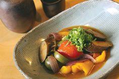 Japanese-Style Ratatouille with Eggplant, fall