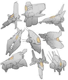 ArtStation - Spaceship Thumbnails, Brother Baston