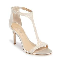 Imagine by Vince Camuto 'Phoebe' Embellished T-Strap Sandal