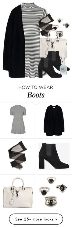 """Style #9882"" by vany-alvarado on Polyvore featuring Topshop, Acne Studios, Forever 21 and Yves Saint Laurent"
