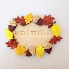 Hello Autumn! I've missed you. Welcome back. Xoxo  #happyhandshappyheart #playdough #scentedplaydough #naturalplaydough #autumn #favouriteseason