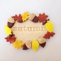 Hello Autumn! I've missed you. Welcome back. Xoxo  #happyhandshappyheart #playdough #scentedplaydough #naturalplaydough #autumn #favouriteseason