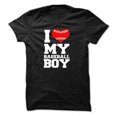 I love my baseball boy, Order HERE ==> https://www.sunfrog.com/Faith/I-love-my-baseball-boy-10643052-Guys.html?41088 #baseball #baseballlovers