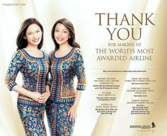 Singapore Airlines - The World's Most Awarded Airline