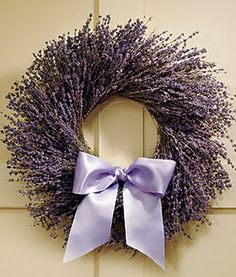 Flowers come in many colors, but lavender flowers can express many feelings. Discover lavender flowers at ProFlowers. Lavender Decor, Lavender Wreath, Lavender Cottage, Lavender Blue, Lavender Fields, Lavender Crafts, French Lavender, Corona Floral, Malva