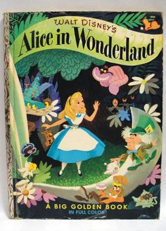 Vintage Disney's Alice in Wonderland 1951 by Lifeinmommatone, $20.75