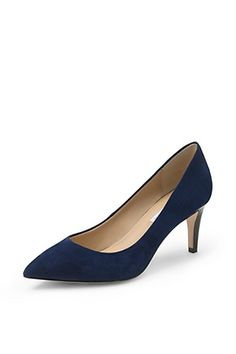20 Comfy-Chic Heels Made For Busy Girls #refinery29  http://www.refinery29.com/comfortable-heels#slide5