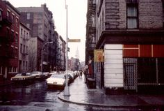 SoHo, Prince St., '70s.-- the beginning of the book takes place two blocks south of here