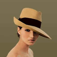 Swagged Out! Fedora from Eric Javits #millinery #hat #fedora #judithm