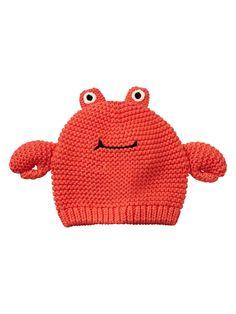 Crab hat   Gap I love Baby Gap!