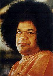 Portrait of Sri Sathya Sai Baba (click to view image source)