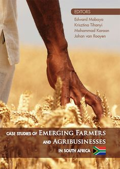 Presenting fifteen case studies of emerging agribusinesses in South Africa, this book has three main objectives: (1) to capture the human stories behind the emerging farms and agribusinesses in South Africa; (2) to highlight the best practices, opportunities, and challenges facing South Africa's emerging farmers and agribusinesses; and (3) to create a new set of instructional materials for academics and development practitioners.