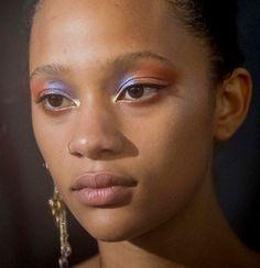 Selena @ Jill Stuart! by Kevin Tachman #makeup #eyeshadow #colorful