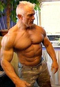 Sixty-something British athlete Bernie Cooper