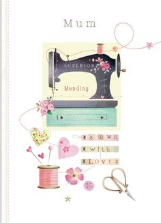 Leading Illustration & Publishing Agency based in London, New York & Marbella. Sky Shop, Heritage Scrapbooking, Sewing Room Decor, Creation Photo, Sewing Art, Sewing Ideas, Jolie Photo, Sewing Studio, Love Cards