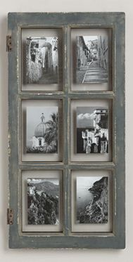 weathered window picture frame