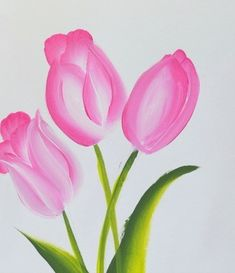 Painting Flowers Archives - Pamela Groppe Art paintings tutorials Paint Pink Tulips Fast and Easy - Pamela Groppe Art Painting Flowers Tutorial, Easy Flower Painting, Tulip Painting, Acrylic Painting Flowers, Flower Art, Painting Tutorials, Flower Paintings, Easy Flowers To Paint, Easy Things To Paint