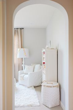White on white nursery
