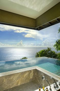 38 Adorable Bathroom Designs With View   DigsDigs