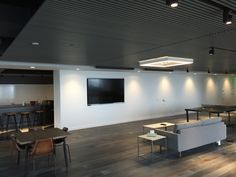 One of our newest projects completed Conference Room, Commercial, Table, Projects, Furniture, Home Decor, Blue Prints, Meeting Rooms, Tables