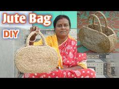 DIY Handmade Jute Rope Hand Bag | Make at home|| #Jute DIY - YouTube