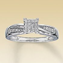 My ring but with a beautiful solitaire in the middle