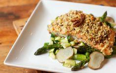 Fitnesz ételek: Zabpehely bundában sütött csirkemell zöldségekkel