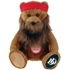 Duck Dynasty 8 inch Plush Bear with Beard and Sound, Willie, Brown