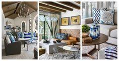 10 salonów urządzonych w stylu śródziemnomorskim. Boskie!