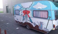 Other side, Final design caravan DDW14 for 'Kleingemaakt' by @Studio Kontra