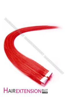 Find The Perfect Hair extensions At HAIR EXTENSION BUY Here.20″ #Red Straight Tape In Human Hair Extensions [TRHSTK200F]. THE SHOPPING GUIDE…