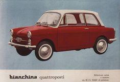 La Bianchina compie 60 anni. Era prodotta dalla Autobianchi, nata dall'accordo tra Bianchi e Fiat