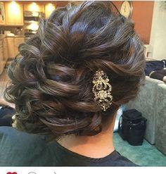 #updo ❤️❤️❤️ #bridalhair